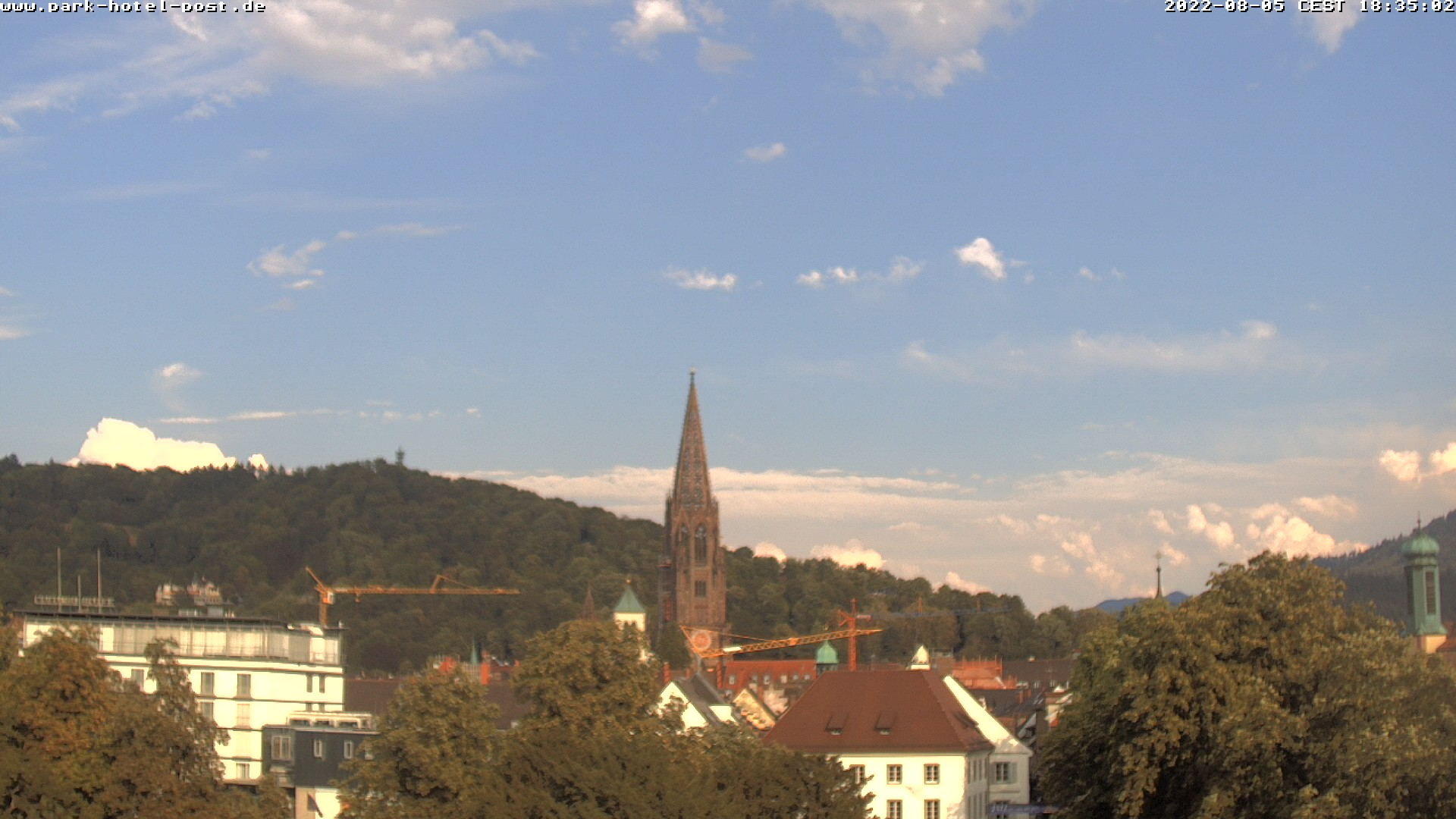 Webcam Park Hotel Post Freiburg